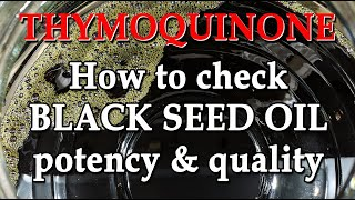 How to check the potency of the BSO