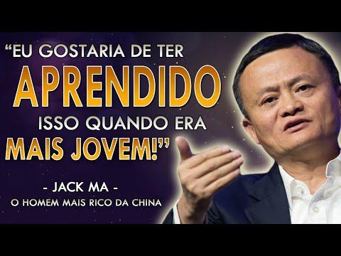 Você Não Precisa Ser Inteligente Para Ter Sucesso | Jack Ma o Homem Mais Rico da China.