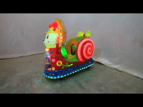 Parrot Kiddie Amusement Ride Game