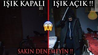 IŞIKLARI AÇMA KAPAMA DENEYİ YAPTIM !! (KALBİ OLAN İZLEMESİN)