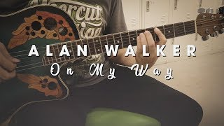 Chord, Tutorial Gitar, dan Lirik Lagu On My Way - Alan Walker, Sabrina Carpenter dan Farruko