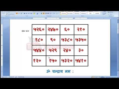 Chamatkari Sidh Yantra - 5 चमत्कारी सोम यन्त्र बनाये और सभी मानसिक चिंताओ से मुक्ति पाये