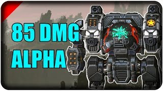 Mechwarrior Online - MASSIVE DAMAGE ALPHA  - Community Builds - TTB