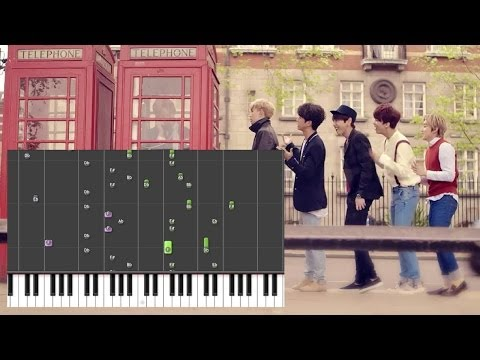 B.A.P - Where Are You ? What Are You Doing ? (어디니? 뭐하니?) (Piano)