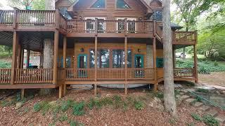 Beautiful North Georgia Lake / Cabin (FPV / Drone Property Tour)