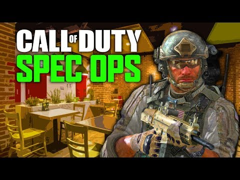 Fast Food Firefight - Call Of Duty: Spec Ops