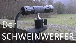 Der Schweinwerfer -  Review - Jagen mit Rotlicht