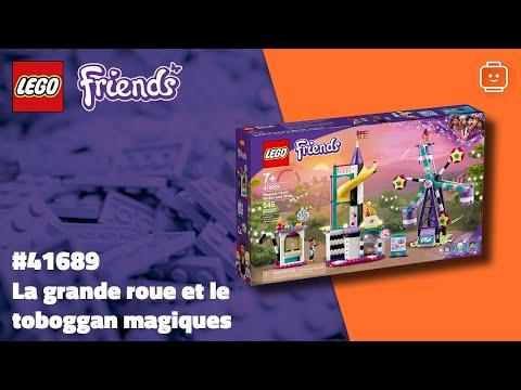 Vidéo LEGO Friends 41689 : La grande roue et le toboggan magiques