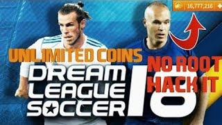 Взлом Dream soccer league 2018  HD