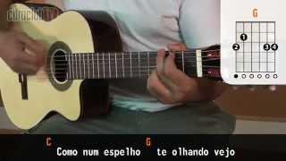 Espelho - Jorge e Mateus (aula de violão simplificada)