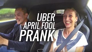 Uber riders expecting a Lotus got pranked instead!