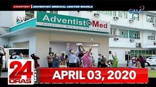 24 Oras Express: April 3, 2020 [HD]