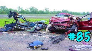 CAR CRASHES IN AMERICA. BAD DRIVERS USA AND CANADA | Crazy Drivers Car Crashes #85