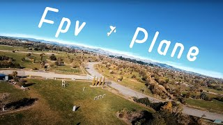 FPV Plane Chasing and Freestyle ????
