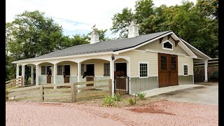 Horse Barn Renovation In Middletown MD