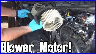 How to Replace the A/C Blower Motor