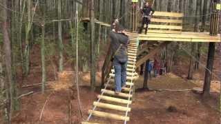 preview picture of video 'Go Ape Jr Course - Williamsburg, VA'
