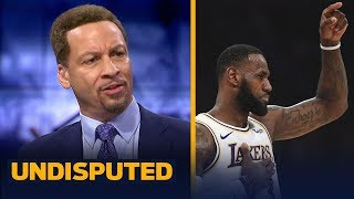Chris Broussard: LeBron deserves half of the blame for the Lakers' struggles | NBA | UNDISPUTED