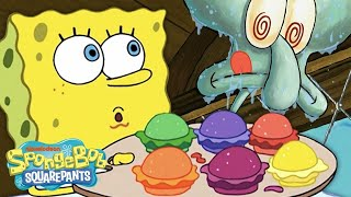 Every Krabby Patty EVER! 🍔 | #SpongeBobSaturdays