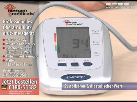Erhöhter Blutdruck bei Belastungen