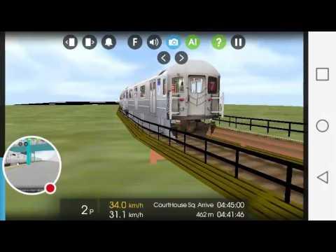 HD] HMMSIM 2 Transit Simulator (Sample): MTA R142 (2) From 3rd ave