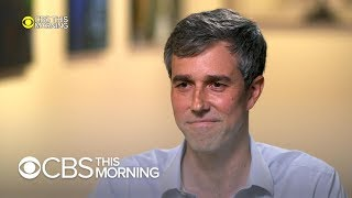 "Beto O'Rourke on why he changed his mind on 2020, Trump's ""hand"" comment"