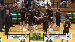 Tippecanoe Valley Boys Basketball vs Peru