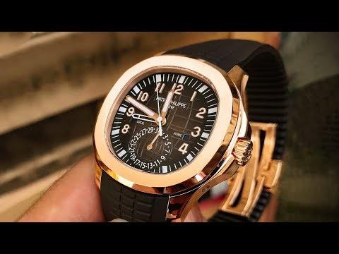 Patek Philippe Aquanaut 5164R – Luxury Watch Review