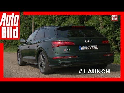 Quickshot: Audi SQ5 (2017) - So startet der V6-Benziner / Sound