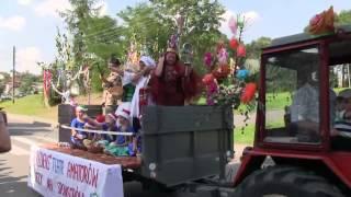 preview picture of video 'Dożynki Gminne w Połomi 2014 KOROWÓD'
