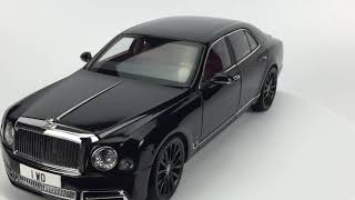 Almost Real Bentley Mulsanne W.O.  Edition By Mulliner