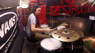 Boxcar Racer - All Systems Go. Drum Cover