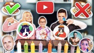 PANCAKE ART CHALLENGE 9 !!! - Youtube Édition : Squeezie, Tibo InShape, Michou...