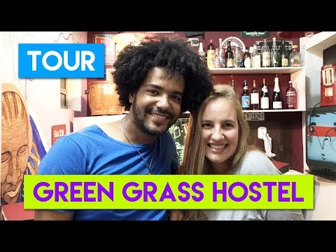 TOUR PELO GREEN GRASS HOSTEL SP