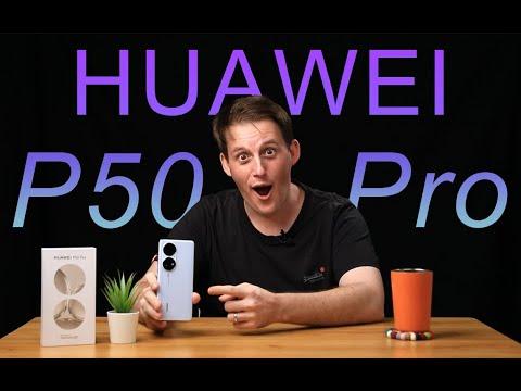 External Review Video 1ejbVmGdPEk for Huawei P50 Pro Smartphone (2021)