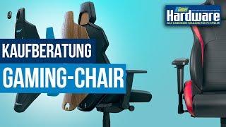 Gaming-Stuhl / Gaming Chair Kaufberatung 2020 | Die besten Tipps zum ergonomischen Sitzen