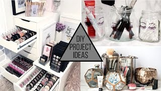 DIY Makeup Storage Ideas For Your Makeup Collection