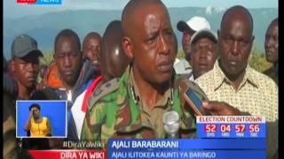 Raila Odinga akita kambi Tharaka Nithi akiwashauru wakaazi wampigie kura: Dira ya Wiki pt 1
