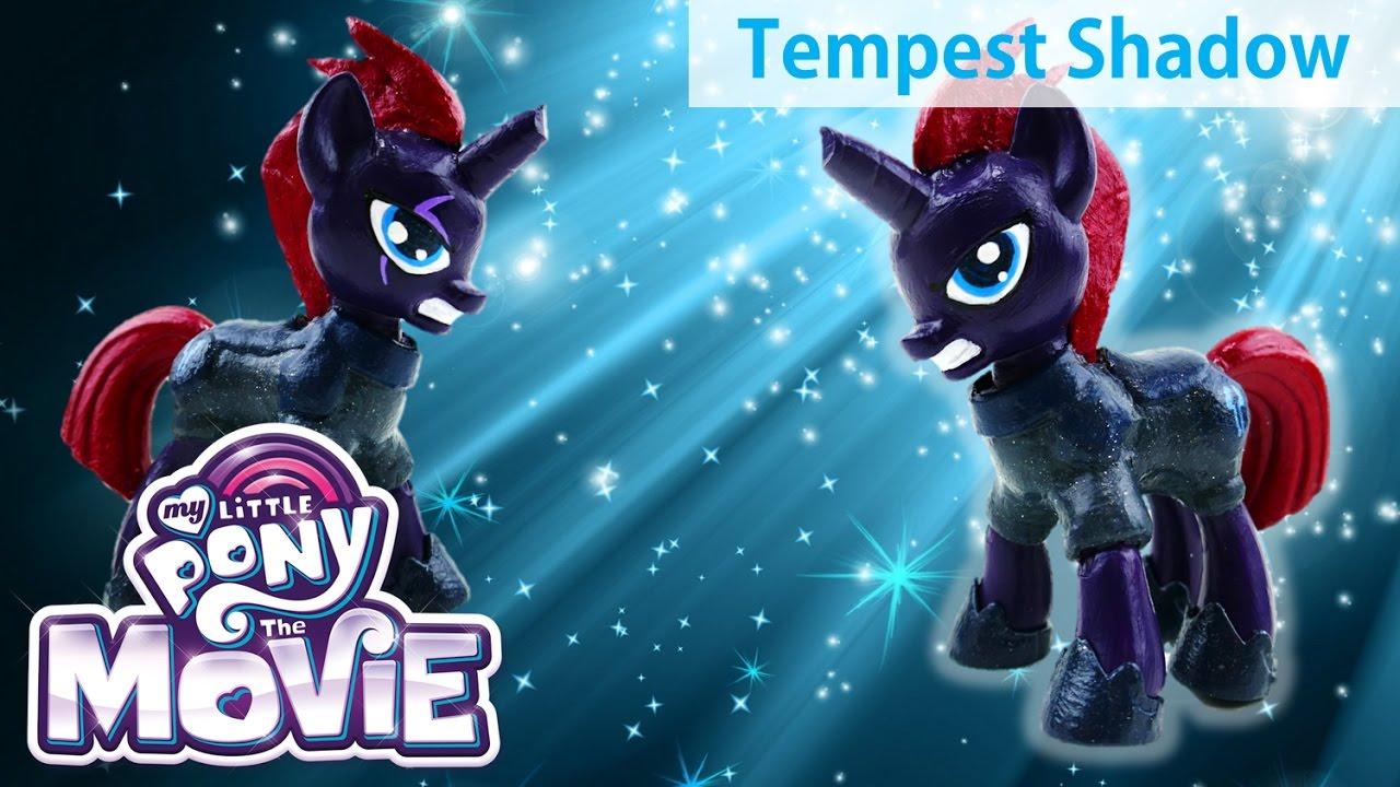 My Little Pony The Movie (2017) Tempest Shadow Custom DIY Doll Tutorial