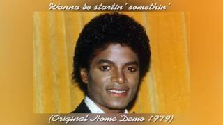 Rare: Michael Jackson | Wanna Be Startin' Somethin' (Original Home Demo 1979)