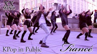 [KPOP IN PUBLIC - FIANCÉ 아낙네 DANCE COVER] -- MINO -- 송민호 [YOURS TRULY COLLAB]