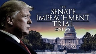 Watch LIVE: Impeachment trial of President Donald Trump day 10 - ABC News