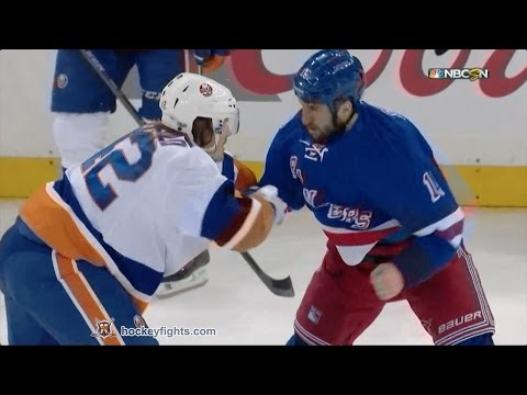 Tanner Glass vs. Scott Mayfield