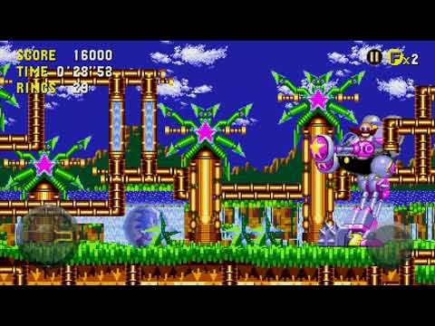 Video Sonic The Hedgehog Cd, Egg-hvc-001 Boss Fight (palmtree Panic