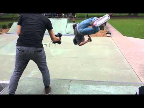 Mini Intro Backflip Skateboard Competition Parramatta Skate Park Sunday 20th November 2015