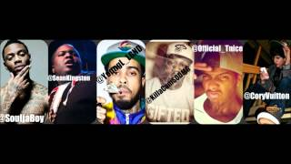 Soulja Boy, Sean Kingston, Young L, Killa Cam, Tnice, cWay - #SWAGMOBB