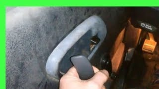 Chevy truck door handle does not work on the inside!   How to repair the right way!