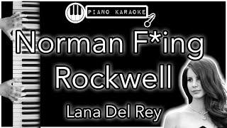 Norman F**king Rockwell - Lana Del Rey - Piano Karaoke Instrumental