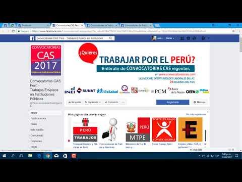 Conseguir Trabajo En Perú Rápido Y Fácil 2018