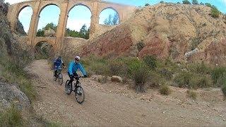preview picture of video 'Monforte Bike BTT, MONFORTE-ASPE-ELCHE-MONFORTE'